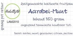 Aardbei-Munt