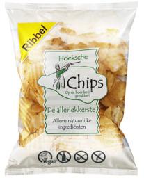 Chips ribbel (zeezout)
