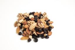 Gekruide notenmix met rozijnen