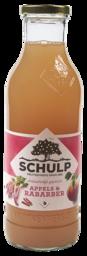 Sap schulp appels & rabarber 0.75l