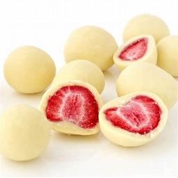 Yoghurt aardbeien