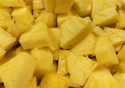 Ananas gesneden