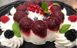Bavarois cheesecake