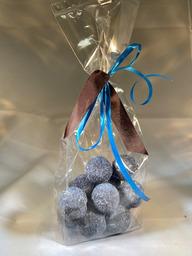 Blauwe bes bonbons