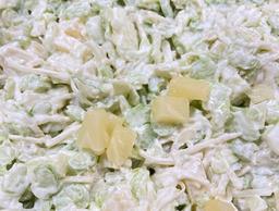 Bleekselderij appel salade