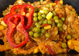Chicken fajita schotel