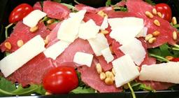 Carpaccio salade truffelsaus