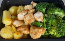 Gezonde maaltijd broccoli-kip