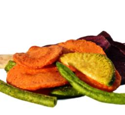 Groente chips gevriesdroogd