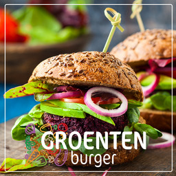 Groentenburger vega broccoli-kaas