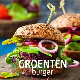 Groentenburger vega champignon