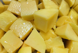 Mango gesneden