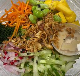 Poke bowl BLOEMKOOLRIJST groenten