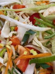 Bami/Nasi groenten