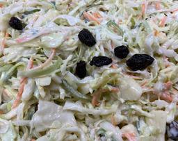 Zoete kool salade