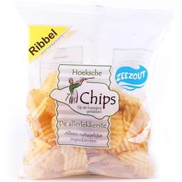 Hoekse chips ribbel