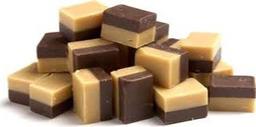 Fudge speciaal  vanille/chocolade