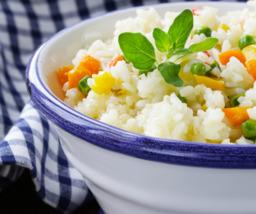 Japanse groentenrijst (vegetarisch)