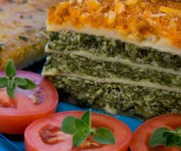 Lasagne Verde (spinazie/tomaat)