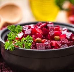 Rode bietjes salade