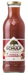 Schulp appel/cranberriesap 750 ml