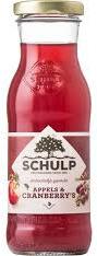 Schulp appel/cranberriesap 200ml