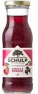 Schulp appel/kersensap 200 ml