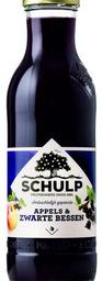 Schulp appel/zwarte bessensap 750ml