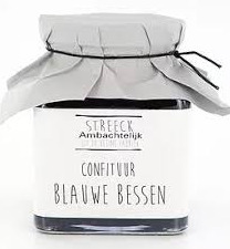 Streeck Blauwe bes confiture