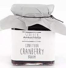 Streeck Cranberry/braam confiture
