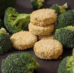 Vega burger Broccoli