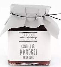 Streeck Aardbei/rabarber confiture