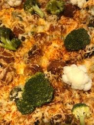 Gratin van Bloemkool/Broccoli