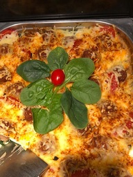 Gratin van vegetarische Spinazie