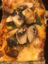 Lasagne met paddestoelen (vegetarisch)