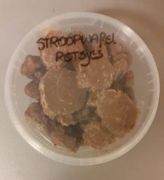 Choco stroopwafel rotsjes
