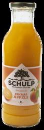 Schulp biologische sinaasappel sap