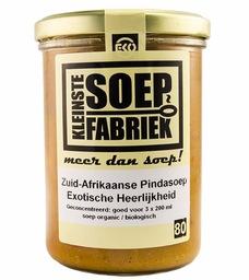 Zuid Afrikaanse pinda soep