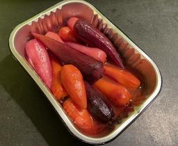 Geglaceerde Oer-worteltjes
