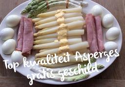 Hollandse Asperges AA kwaliteit (DAGPRIJS)