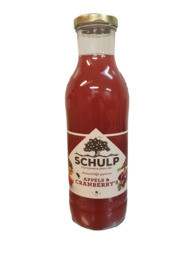 Appel-cranberry's 750 ml