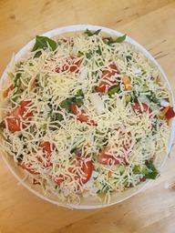Verse groente pizza's