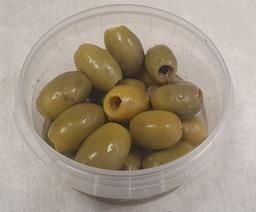 Pitloze verse olijven