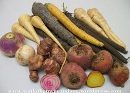 Selectie van vergeten groenten