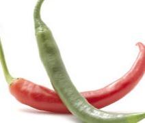 Pepertje rood of groen