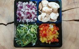Gourmet groentemix 4 stuks