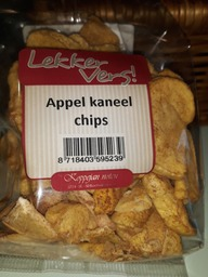 Appel kaneelchips