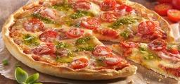 Groente mozzarella pizza