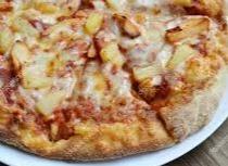Groente kip ananas pizza