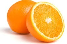 Hand/pers sinaasappel Salutiana